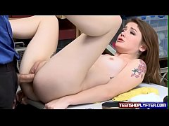 Bad Teen Rosalyn Sphinx Take Dirty Deal To Escape Police Charge