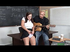 smoking hot Liza Del Sierra gets fucked hard by her prof