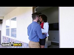 bangbros - stepom misty stone talks dirty while fucking aaliyah and logan