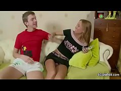 brother seduce his petite step-sister to assfuck