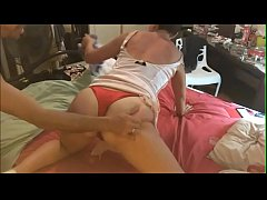 T&A 246 (MDMA) - White Girl, Rose Satin Dress, Red Satin Panties