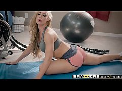Brazzers - Pornstars Like it Big -  Pornstar Workout scene starring Nicole Aniston and Xander Corvus