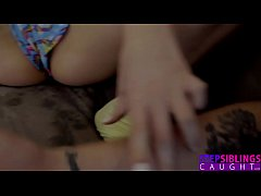 HD StepSiblingsCaught - Horny Lil Sis Begs To Be Fingered S7:E3