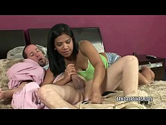 Latina coed Emy Reyes is getting her young twat stuffed