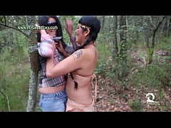 Apache and Cowgirl Threesome Sexy Girls 2 - Jenifer and Star Kaat