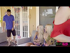 Waking Up To My Stepsis And Her Hot Friend At July 4th BBQ S5:E12