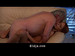 Porn casting for an amateur old man fucking you...