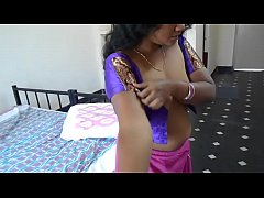 Telugu Bhabhi Wearing Saree wid  Audio ~720p~ =Kingston=