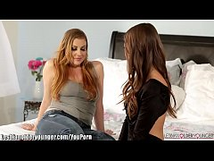 YouPorn - LesbianOlderYounger Riley Reid and Sovereign Syre Facesit