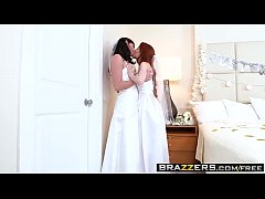 Brazzers - Its A Nice Day For A White Lez Wedding Dolly Little and Kymberlee Anne