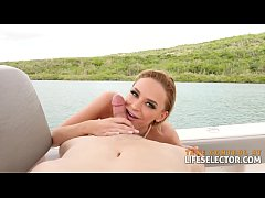 Fucking Emma Hix on a tropical holiday POV