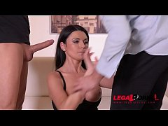 Ania Kinski Anal Fucked And Double Penetrated During XXXtreme Threesome GP110