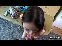 Striking czech nympho is seduced in the mall and nailed in pov