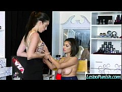 Using Sex Toys Mean Lez Punish Hard A Lesbo Girl (darcie&jelena) video-12