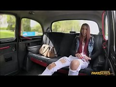 College Paris Divine gets her pussy slammed in the backseat
