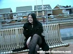 British Emmas bbw amateur pissing outdoors and public nudity whilst masturbating