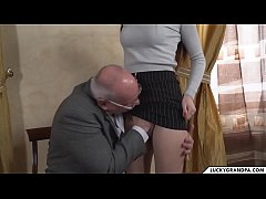 young pussy fucks old professor