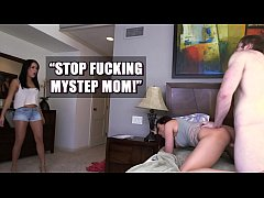 BANGBROS - Hot MILF Chanel Preston Shares Dick With Her Slutty Step Daughter At Their Yard Sale