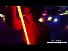 May the 4th be with you - Star Wars BBW Toy Play and Light Saber Bating!