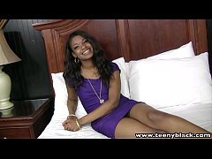 TeenyBlack 18 yearold black teen Millian Blaze interracial sex