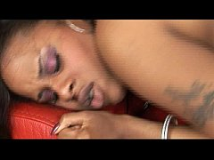 Ebony with big naturals banged hard by a lucky guy