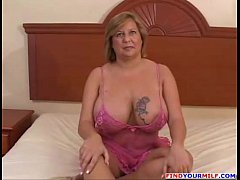 Big black cum inside mature wife