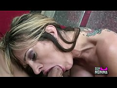Horny Stepdaughter amateur likes take majestic penis in mouth till cum fat mouth