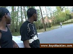 Black Gay Sex Fucking- BlacksOnBoys - video19