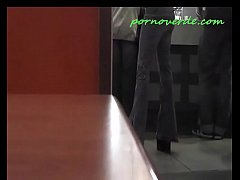 blowjob at public burguer bathroom
