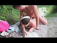 Hot German Outdoor Surprise Fuck, Free HD Porn