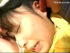Young Girl In Yellow Pijama Getting Her Pussy L...