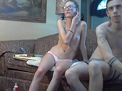 horny young couple