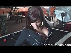 Karen Dreams - Pool Table