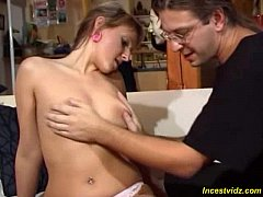 Daddy seduced little Daughter