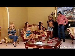 Lesbian Orgy From Comedy TV Series Parody