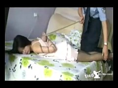 Beautiful girl get tied up by police - http:\/\/t...