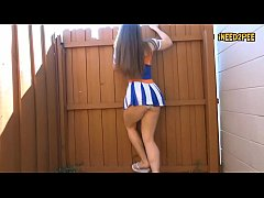 female pee desperation wetting her panties 2017 4