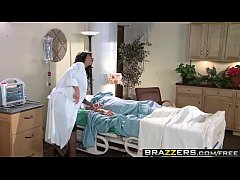 Brazzers - Doctor Adventures -  Genital Hospital scene starring Angelina Valentine and Chris Strokes