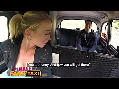 Female Fake Taxi Hot blonde sucks and fucks Czech cock in taxi