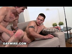 GAYWIRE - Bareback Anal Pounding with Dick and Tony!