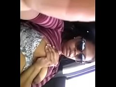 8922885 black milf plays in car