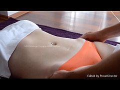 Massage for MILF with nice Cameltoe