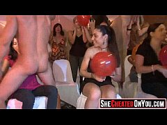 11 hot milfs at cfnm party caught cheating