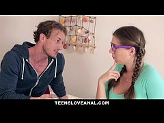 TeensLoveAnal - Step-Dad fucks daughter in the ass