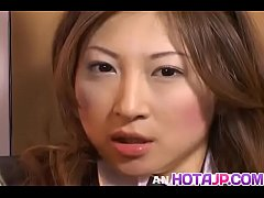 Chihiro Hara shows off impressive pussy masturbation - More at hotajp com