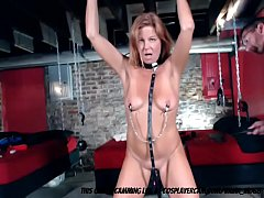 Slave MILF Getting Tortured In The Dungeon...