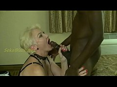 Interracial Loving Seka Plays With Her MILF Fucking Machine