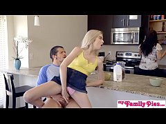Bratty Sis Gets Cock And Cum In Kitchen! - My Family Pies S4:E5