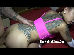 HD freaky petite asian banged by hood rican tattoo chiraq style