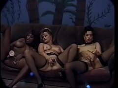 Dick Nasty fucks his way through four gorgeous chocolate sluts in this intense interracial fuck fest!
